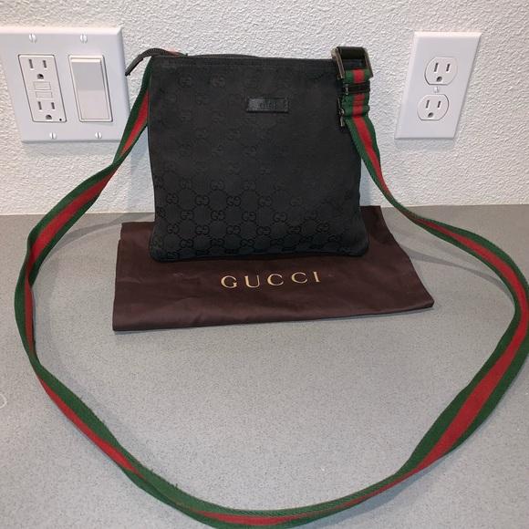 ae6f46cc9746 Gucci Bags | Authentic Web Messenger Crossbody Bag Mini | Poshmark